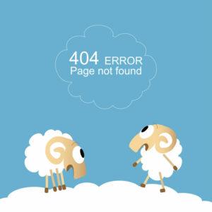 Error 404 - how to fix it?